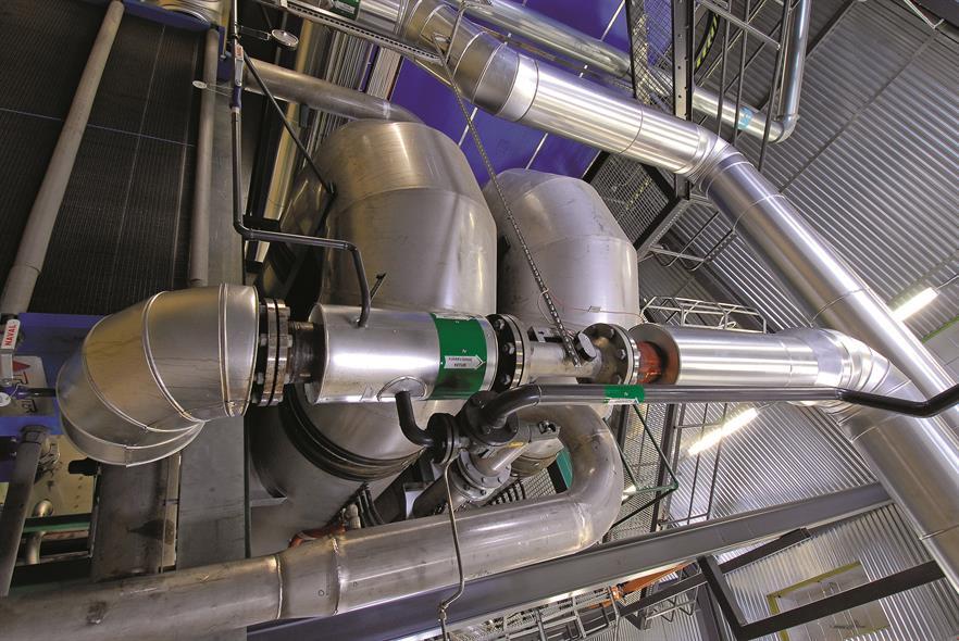Opcon's bioenergy flue gas condensation system