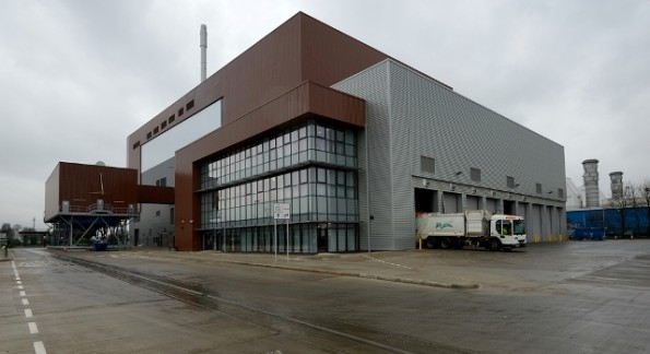 Viridor's Peterborough EfW plant opened earlier this year
