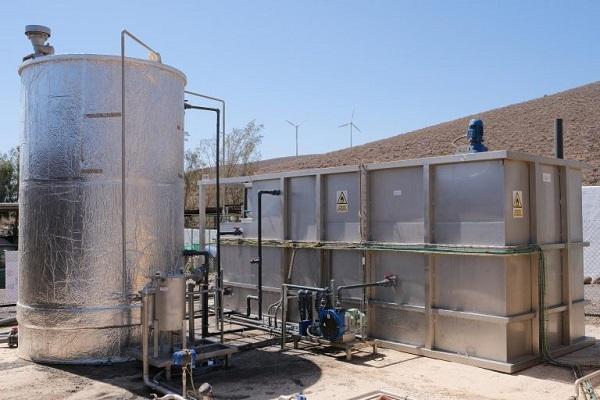 The biogas plant