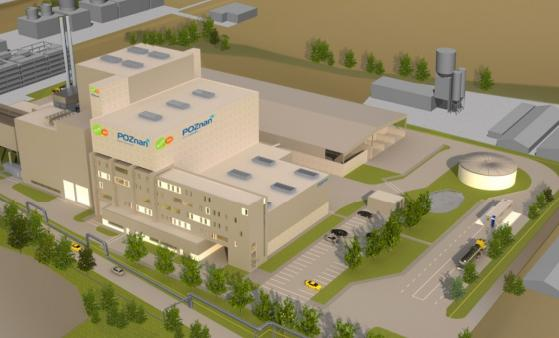 An artist's impression of the Poznan facility