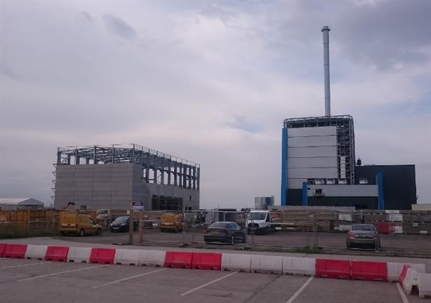 The Port Clarence biomass-fired plant