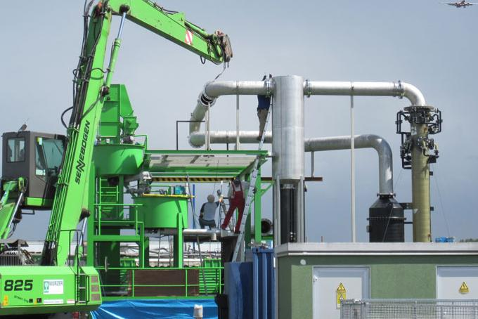 Pyromex Ultra High Temperature (UHT) gasification technology being installed in Germany