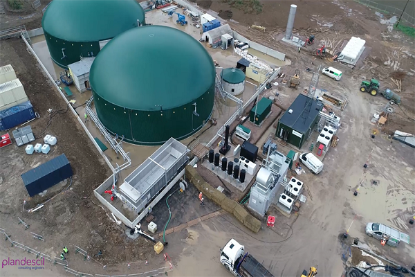 Privilege Finance's Isle of Sheppey-based anaerobic digestion plant