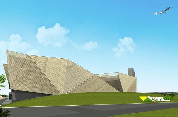 An artist's impression of what the combined site will look like