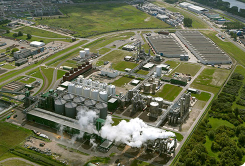 Abengoa's plant in Rotterdam
