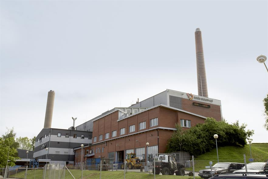 The combined EfW and biomass-fired plant