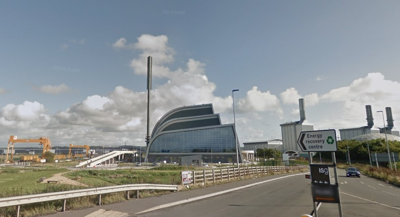 Suez's SERC EfW plant opened in 2017, image copyright google.co.uk