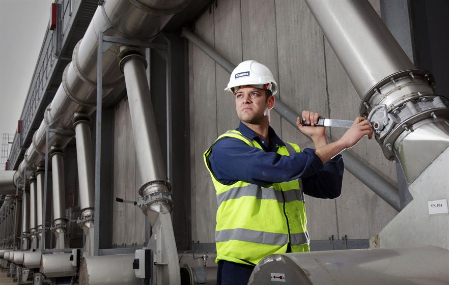 Shanks exiting the UK's solid waste sector hit the project