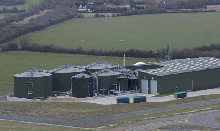 The biogas plant, photo westcottventurepark.com