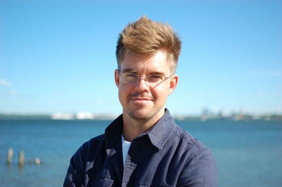 Researcher Jonathan Fagerström