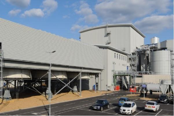 The Snetterton biomass-fired plant