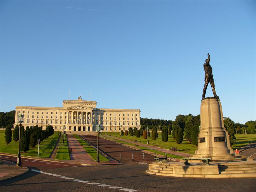 NI parliament buildings commonly known as Stormont