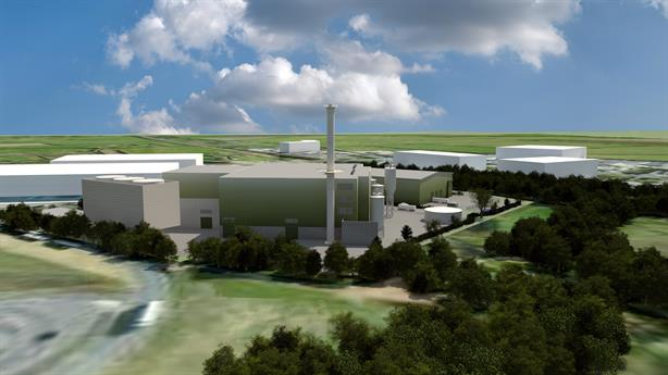 An artist's impression of the Swindon facility