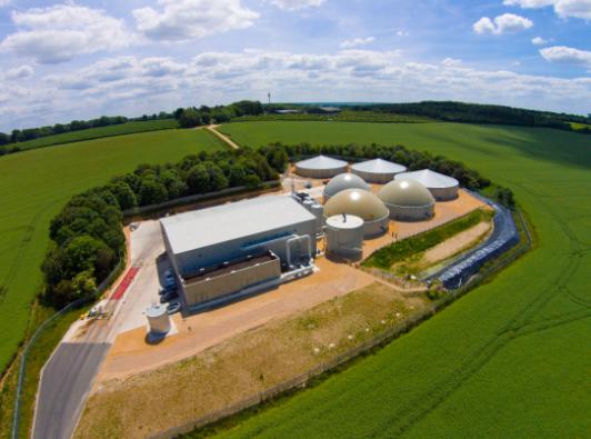 Tamar's Basingstoke-based biogas plant