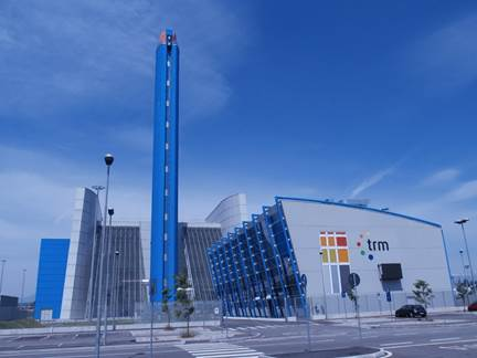 The Turin EfW plant in Italy, CNIM carried out the project together with Valmet in 2011