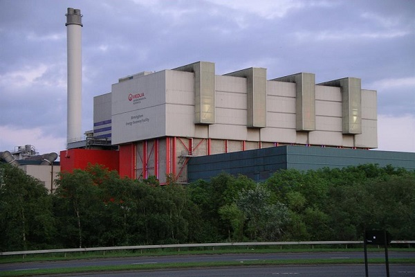Veolia's Tysley EfW plant is consented to process clinical waste