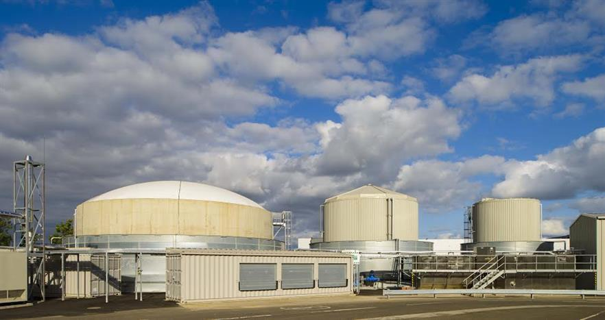 Nestle Fawdon biogas plant built by Clearfleau