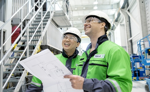 Valmet staff at work, image copyright Valmet