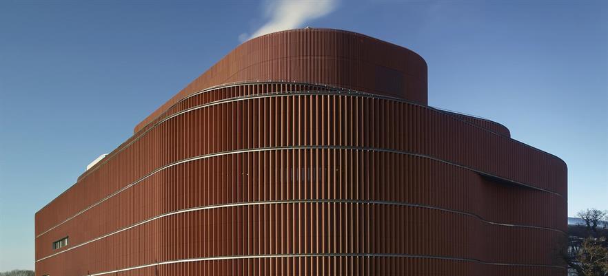 The biomass-fired Värtan cogeneration facility