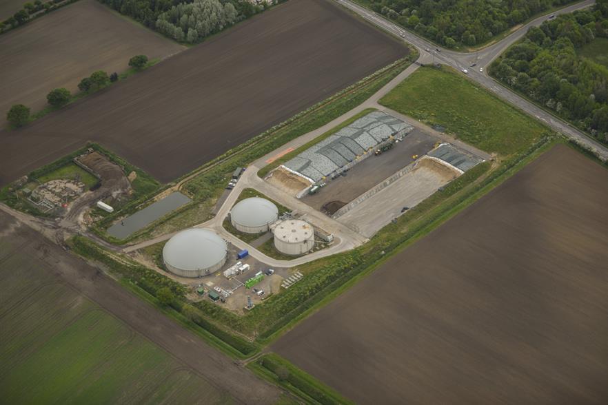 The facility, image Future Biogas