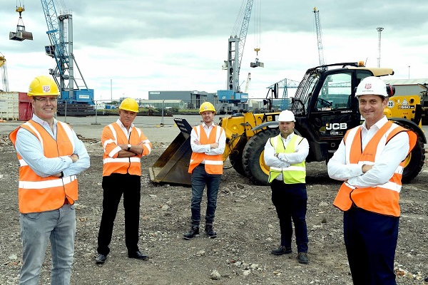 Construction at the site kicks off