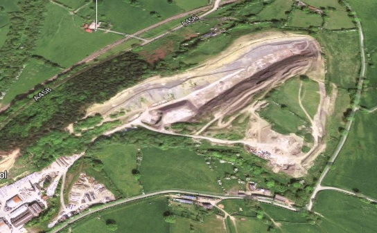 The site of the EfW plant, image google.co.uk