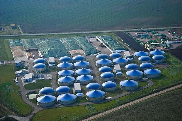 A weltec biogas-based build