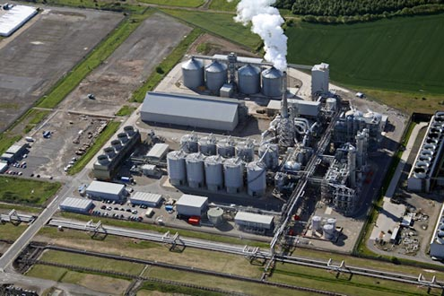 CropEnergies' currently closed Wilton facility
