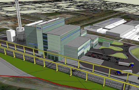 The company is building the Wilton EfW plant