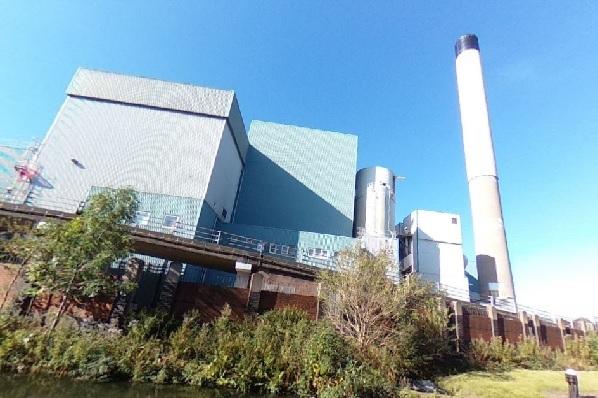 The EfW plant, image copyright google.co.uk