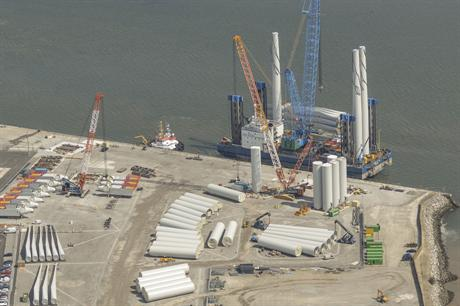 Safety Technology's wind safety training centre is at the Port of Mostyn