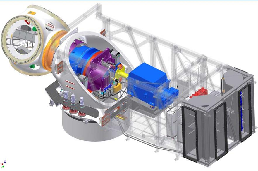 The 5.5MW machine has been co-developed between HHI and AMSC