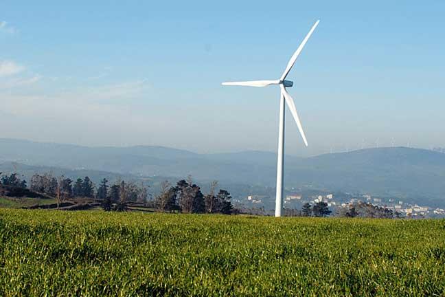 Alstom's Eco 74 1.6MW  turbine