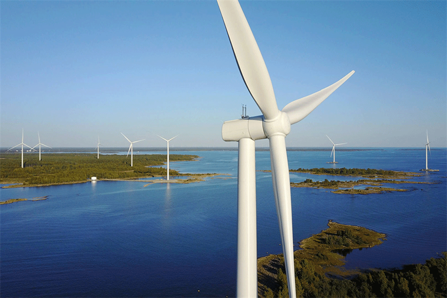 OX2 repowered the Ajos wind farm in Finland for owner Ikea in 2017