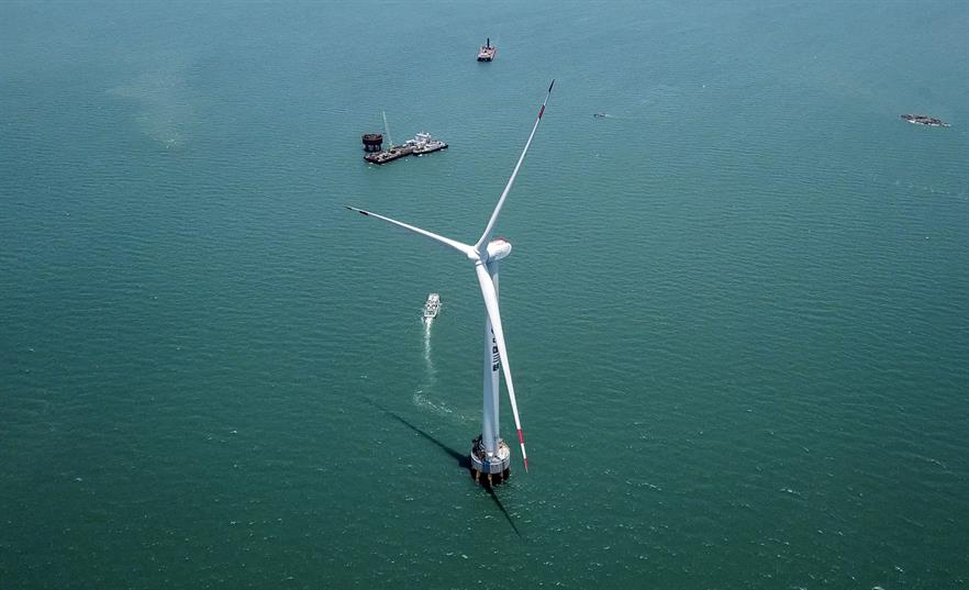 """The 10MW offshore prototype is """"just the beginning"""" in Dongfang's ambitious plans"""