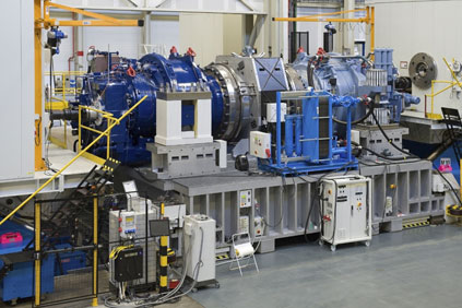 Hansen's 6MW testing rig