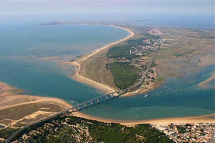 The Isle of Noirmoutier, in the Atlantic, is one of the two zones earmarked for development in the second French offshore tender