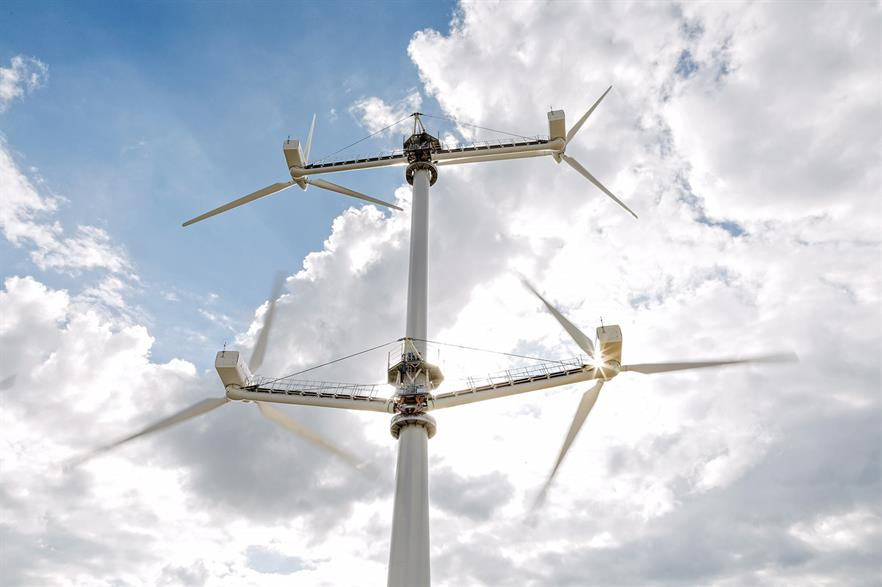 Vestas' multi-rotor concept turbine is now being taken down