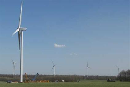 The project uses Vestas' 2MW turbine