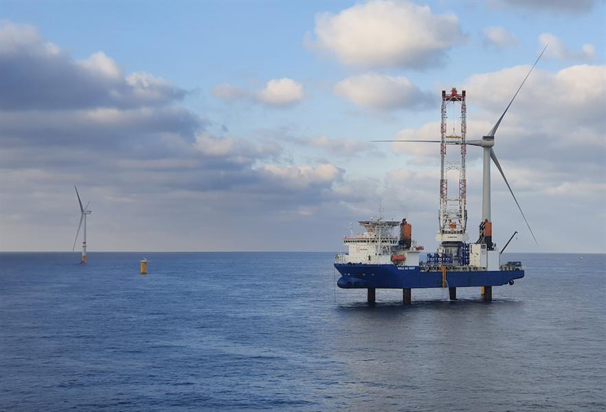 Deliveries to Parkwind's Northwester 2 project off Belgium was MHI Vestas' main source of H2 revenue.