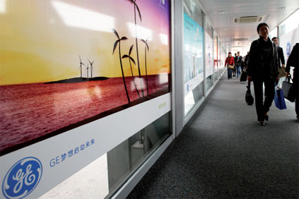 US firm GE has invested heavily in manufacturing in China