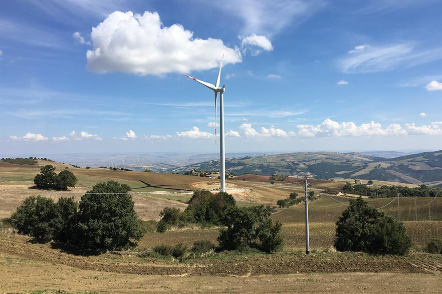 Italy's wind projects dominated the joint technology tender, with a new one on the way