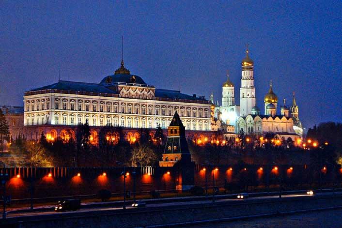 The Kremlin... Russia is seeking to increase its wind power generating capacity