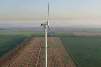 The Vestas V90 turbine will be used on the Fullabrook wind farm