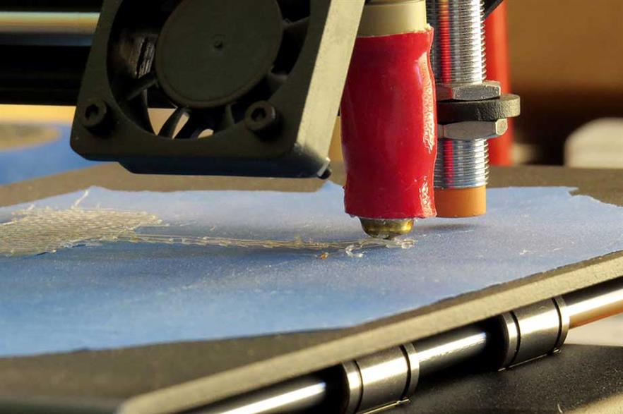 Industrial revolution? Additive manufacture adds very thin layers of material from the bottom up (pic: Luke Jones)