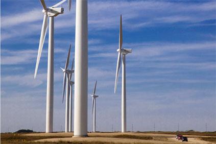 Penascal wind project, Texas. Iberdrola's largest wind farm