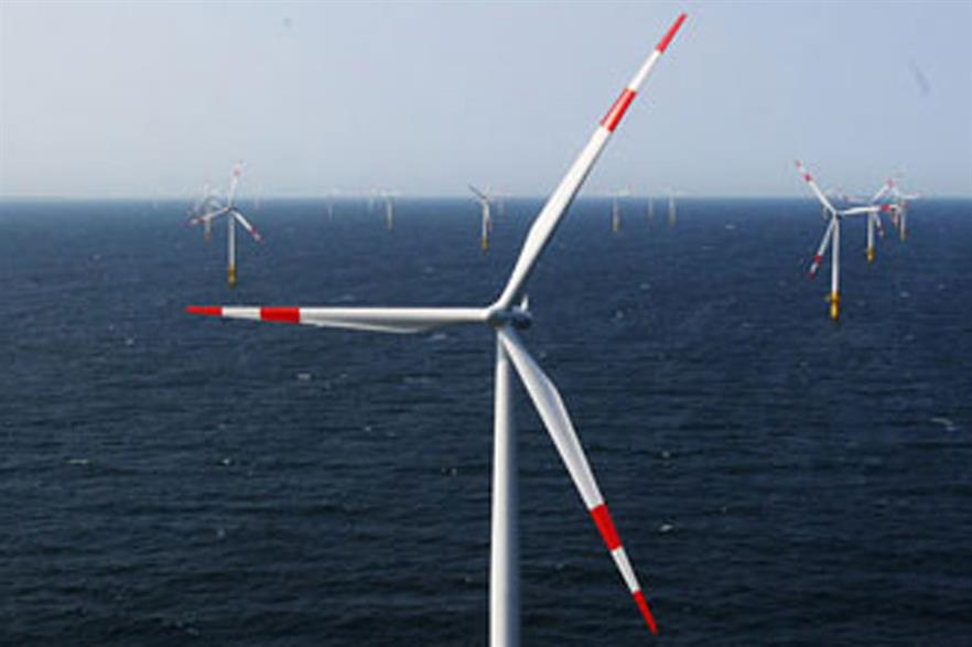 EnBW owns the Baltic 1 offshore wind farm