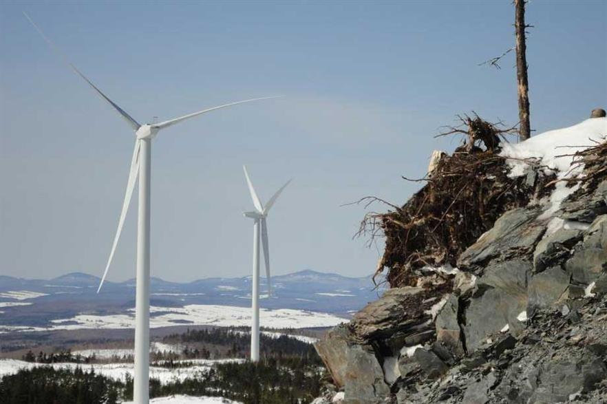 EDF has brought online the Massif du Sud wind project in Quebec
