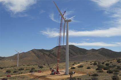Terra-Gen's Alta Wind Energy Centre in California
