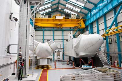 Siemens' wind power training centre in Newcastle